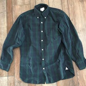 Men's J-Crew plaid shirt
